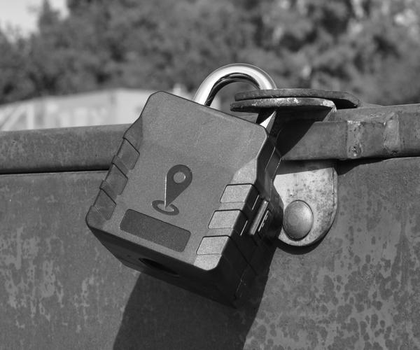 axoLOCK high security GPS tracking padlock